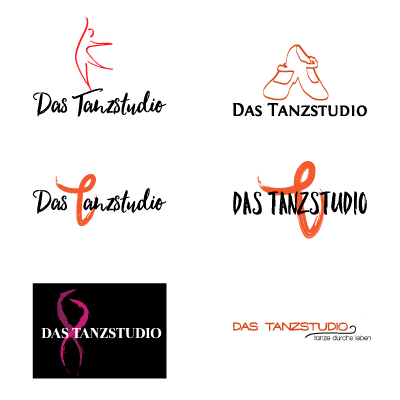 Logo Variations Dance School